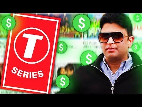 Сколько зарабатывает T-SERIES / Cамый популярный канал на ЮТУБЕ