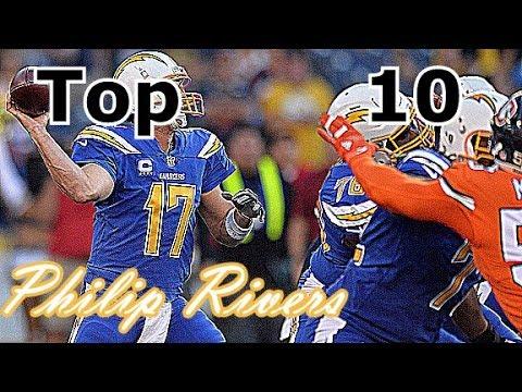 Philip Rivers Top 10 Plays of Career