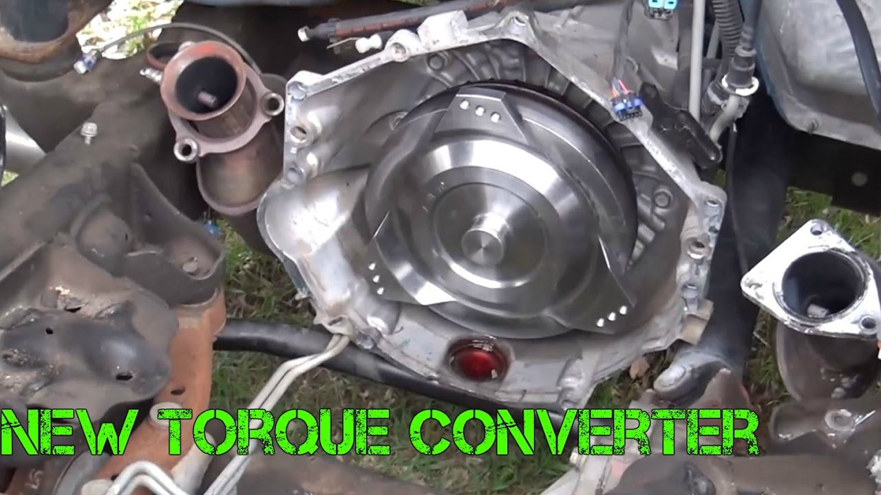 New Chevy Silverado >> Picking Up The Upgraded 6.2L And Installing The New Torque Converter (Part 2) - YouTube