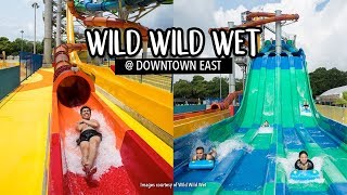 New Crazy Adrenalin Pumping Water Slides at Wild Wild Wet Singapore (Downtown East)