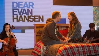 Ben Platt and Laura Dreyfuss perform 'Only Us' from 'Dear Evan Hansen' on TODAY