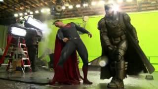 Съемки фильма Бэтмен против Супермена