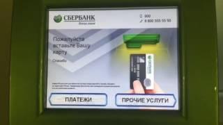 Как оплатить госпошлину в кадастровую палату в банкомате Сбербанка