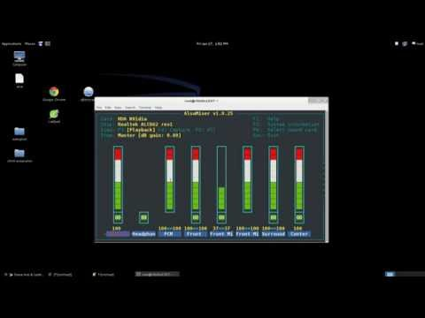 How to fix having no sound at all on Kali Linux