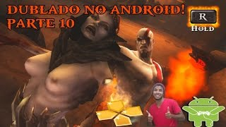 PPSSPP GOD OF WAR DUBLADO NO ANDROID GHOST OF SPARTA ANDROID GAMEPLAY