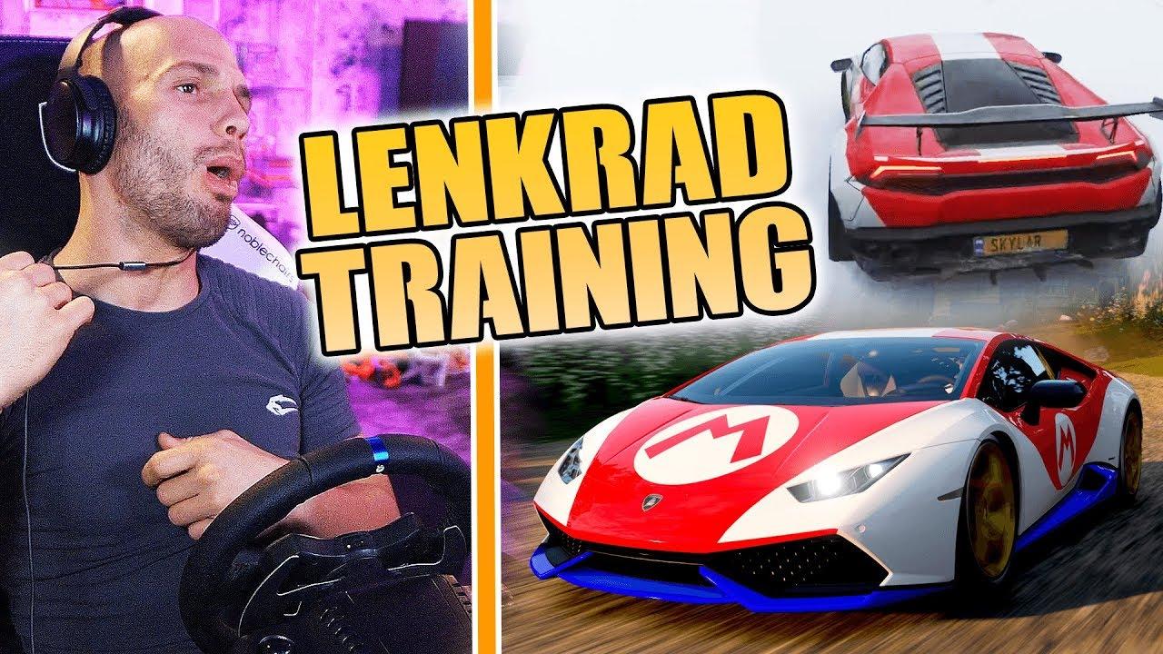 FAHRSTUNDE mit LENKRAD! (FORZA HORIZON 4) ? | Flying Uwe Gaming thumbnail