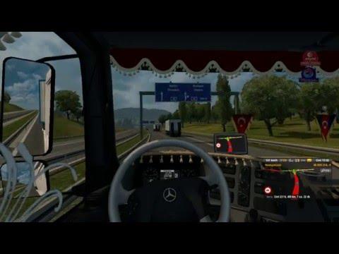 Euro Truck Simulator 2 Mercedes Axor 1840 Aydemir Prefabrik