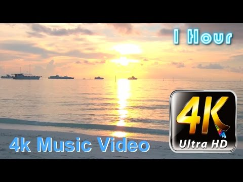 4k Video and 4k Video Test of 4K Ultra HD Resolution Video: Chill Out Beach Lounge 4K Music Video