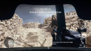 Battlefield 1 - O LA Vittoria: Assault & Destroy Artillery Gun Gameplay, Luca Cocchiola Sentry PS4