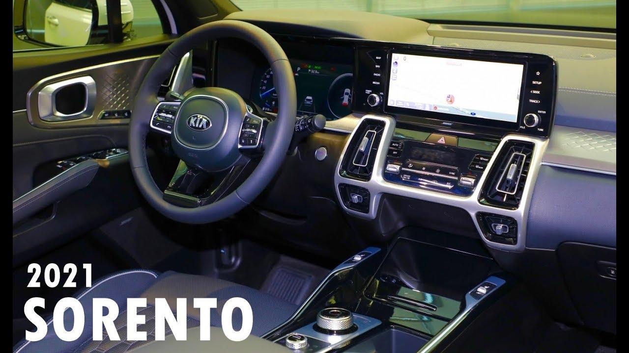 2021 Kia Sorento X Line Interior - NEWREAY