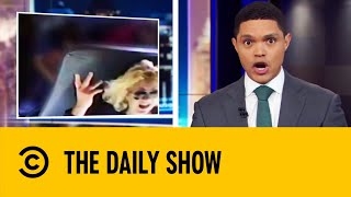 Download School Kids Scream In Terror As Bus Driver Drives Drunk | The Daily Show With Trevor Noah Mp3 and Videos
