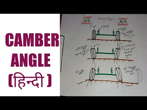 CAMBER ANGLE (हिन्दी )!LEARN AND GROW