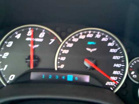 185 MPH with Corvette C6  YouTube