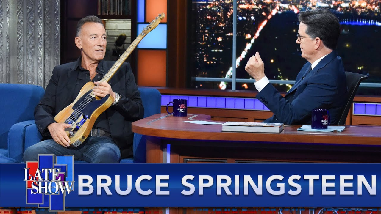 """Download """"Every Club, Theater, Arena And Stadium"""" In The World - Bruce Springsteen's Guitar Has Seen It All"""