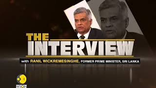 The Interview: Exclusive conversation with Ranil Wickremesinghe, Former PM, Sri Lanka