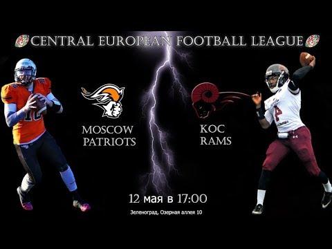 Moscow Patriots - Koc Rams|