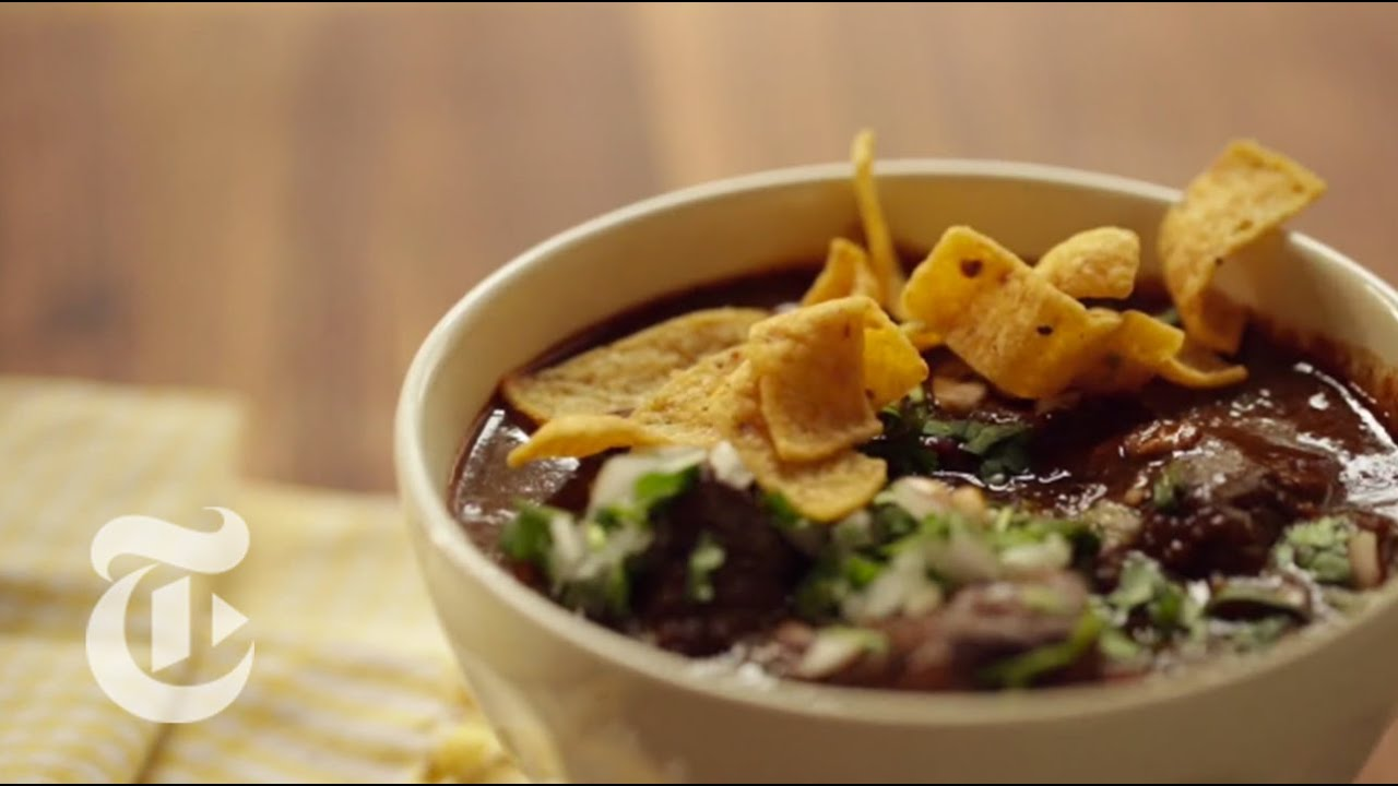 Texas style chili recipe lab the new york times youtube forumfinder Image collections