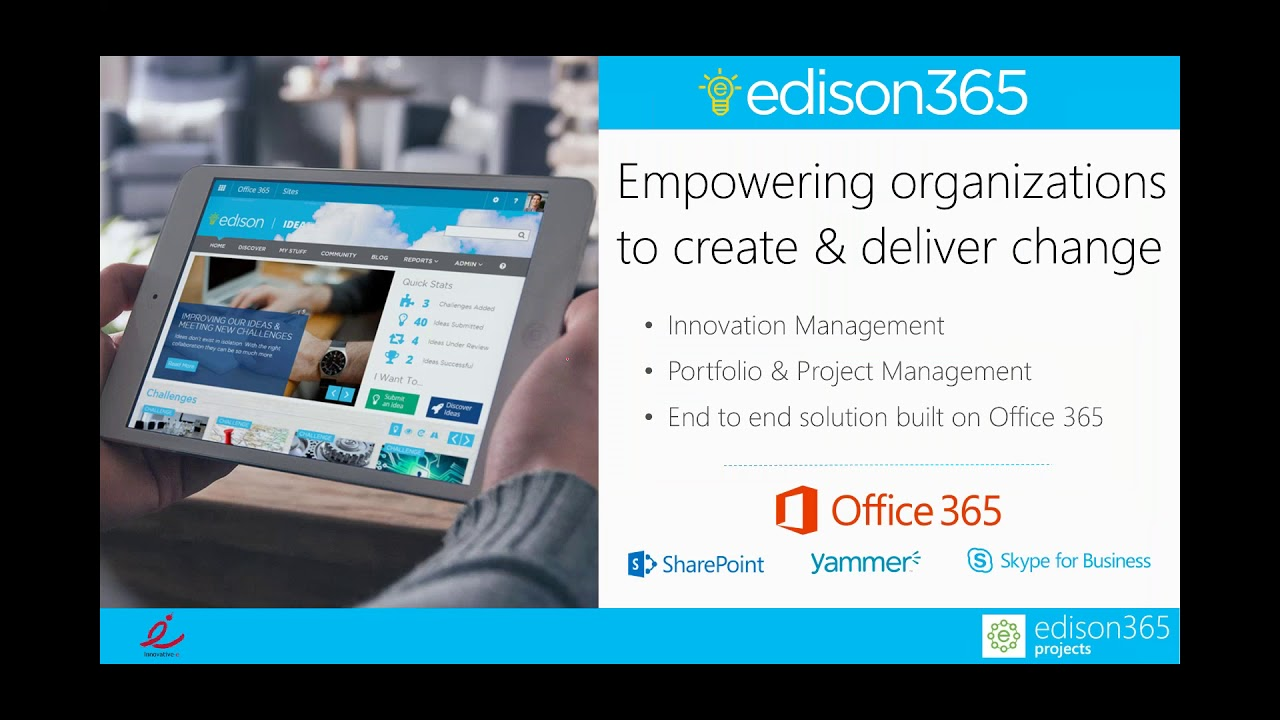 Extend the capabilities of Microsoft Project Online with edison365projects