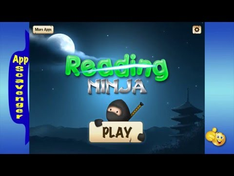 Reading Ninja - Learning (slicing) new words is FUN