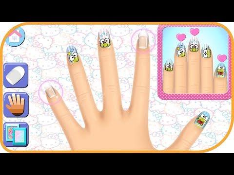 Hello Kitty Nail Salon #5 | Budge Studios | Casual | Pretend Play | Fun Mobile Game | HayDay