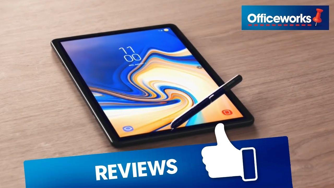 Samsung Galaxy Tab S4 Tablet 4G 256GB Black