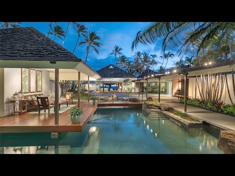 Hawaiian Beachfront Luxury Estate For Sale | 4383 Royal Place, Honolulu, Hawaii 96816