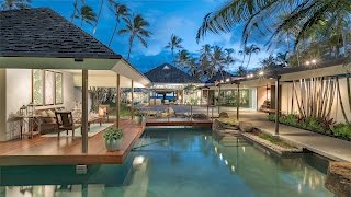 Hawaiian Beachfront Luxury Estate For Sale | 4383 Royal Place, Honolulu, Hawaii 96816