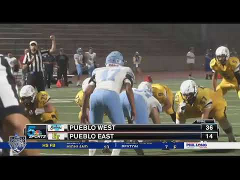 Friday Football Fever: Week 2 - Pueblo West vs Pueblo East
