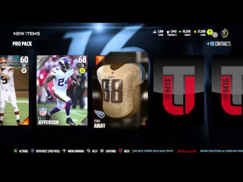 Mut 16 Pro Pack Randall Cunningham PULL!