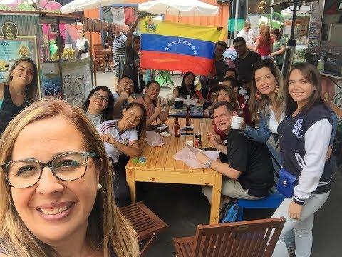 VENEZOLANOS EN #SANPABLO - DOMINGO EN  VILA BUTANTAN #SãoPaulo #Brasil