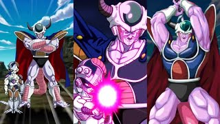 FREE LR KING COLD & MECHA FRIEZA SUPER ATTACK! (Dokkan Battle JP)