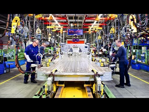 How to make Mercedes Sprinter. Plant in Dusseldorf.