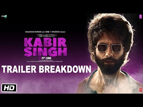 Kabir Singh Trailer Breakdown  Shahid Kapoor Kiara Advani  Sandeep Reddy Vanga