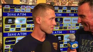 Simone Iacoponi dopo Parma-Pisa 0-1