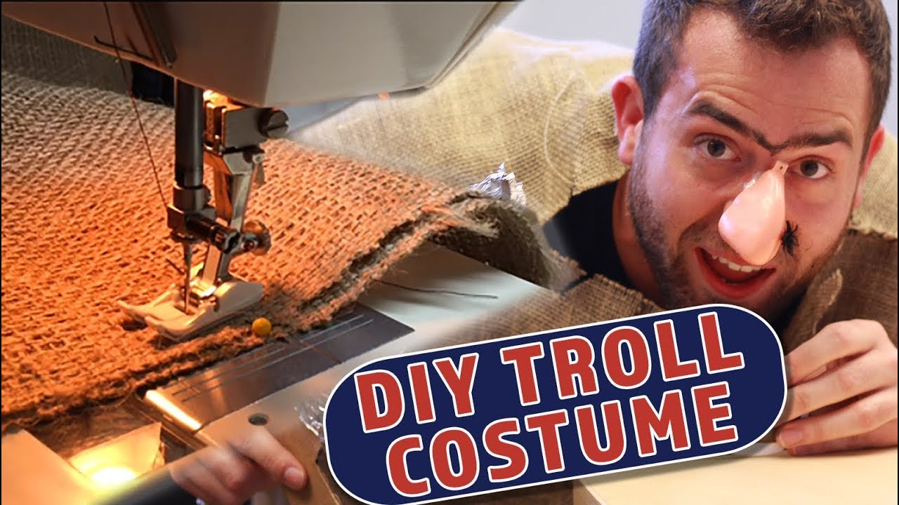 032f60a1738 How to make a Troll Costume - YouTube