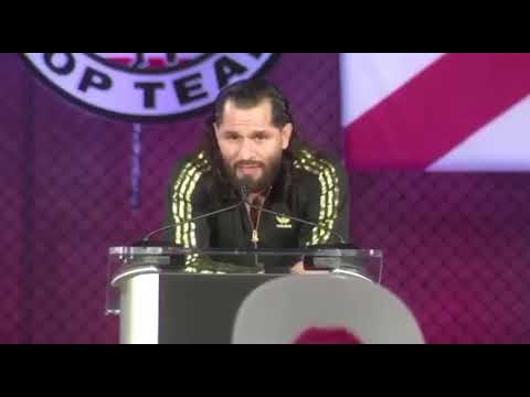 UFC Fighter Jorge Masvidal Tells Latinos Why They Should Vote For Trump