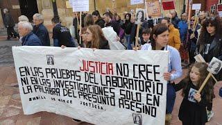 Movilización de la familia de Sheila Barrero para pedir la reapertura del caso