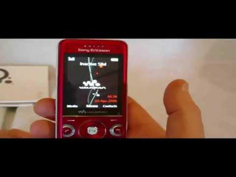 Sony Ericsson W670i Walkman Unboxing