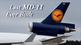 ~ Last MD-11 Ever Built D-ALCN ~ Visits Helsinki by Lufthansa Cargo
