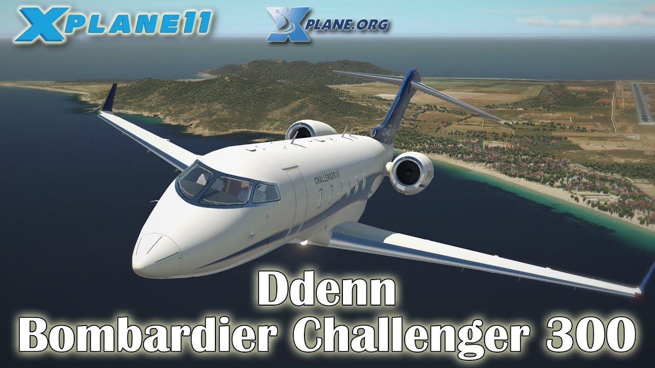 Ddenn - Bombardier Challenger 300 v2 for X-plane 11