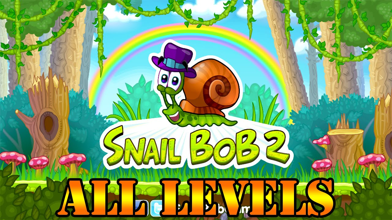 snail bob 2 all levels full game 3 stars youtube