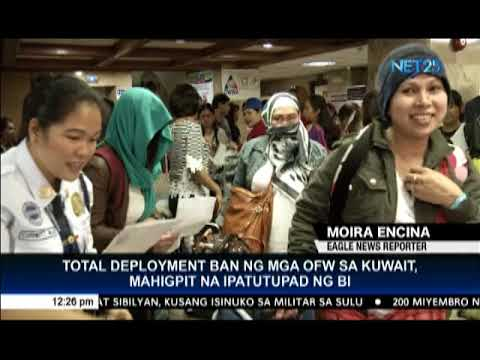 Immigration bureau to strictly implement total ban on deployment of OFWs to Kuwait