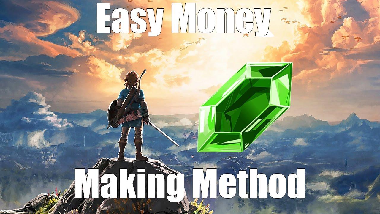 [Minor Spoilers] Breath of The Wild: Easy Money Making Method!