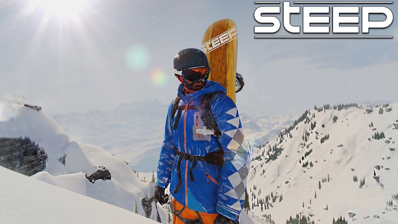STEEP - CRASH SIMULATOR - YouTube