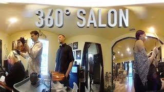 Omar's Hair Salon In 360°