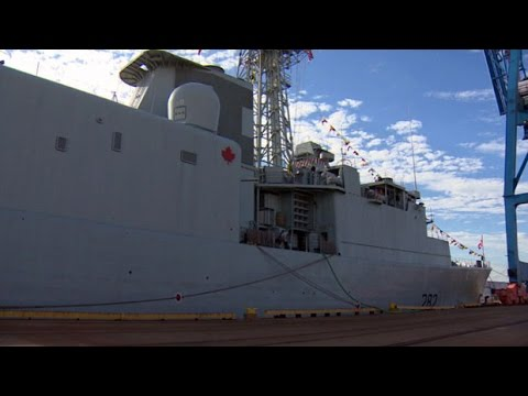 Tour the HMCS Athabaskan