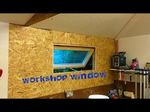 Quick And Dirty Workshop Window Build