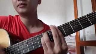 """Guitar hướng dẫn: Intro, đệm hát """"Tự nguyện"""" - ST: Trương Quốc Khánh"""