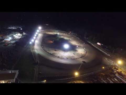 Big Diamond Raceway Drone Footage 9/5/16