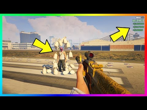 What Happens If You Get Modded Money Dropped On You In GTA Online?